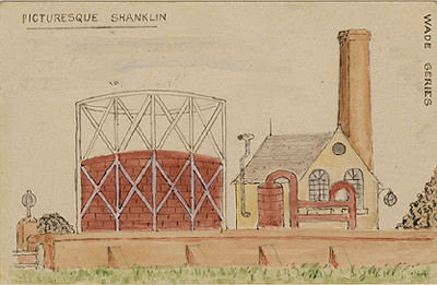 Shanklin gas works