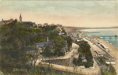 Shanklin looking towards the pier